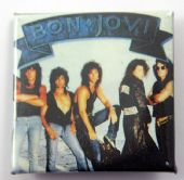 Bon Jovi - 'Group' Square Badge